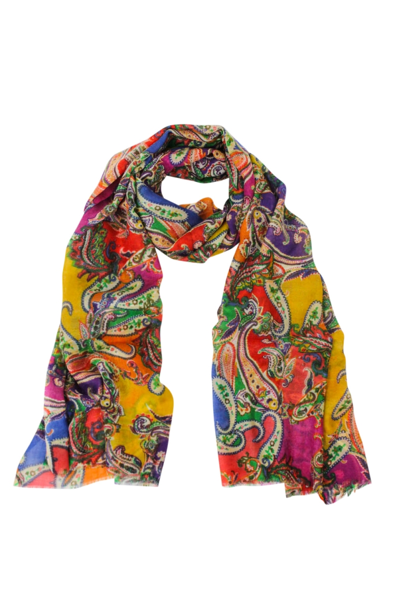 Paisley-Schal, Royal-Multi